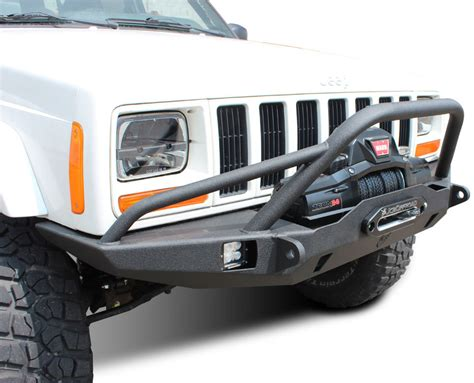 jeep prerunner bumper jcr offroad vanguard front winch bumper with prerunner for