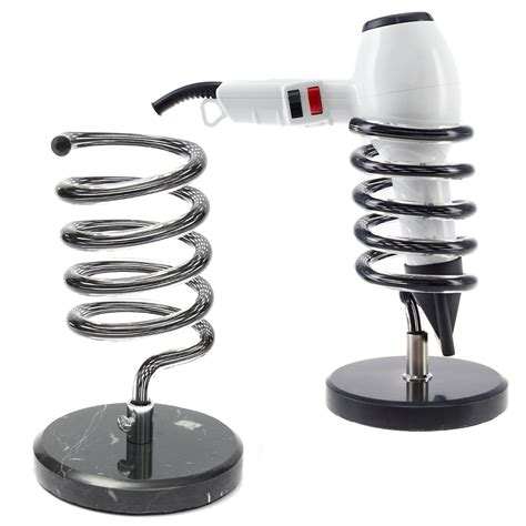 Hair Dryer And Straightener Holder Argos salon spiral dryer holder hair dryers straighteners desk