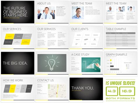 universal pitch deck three powrpoint presentation