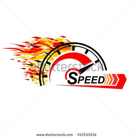 Speed Logo speed logo design icons vector stock vector 512507374