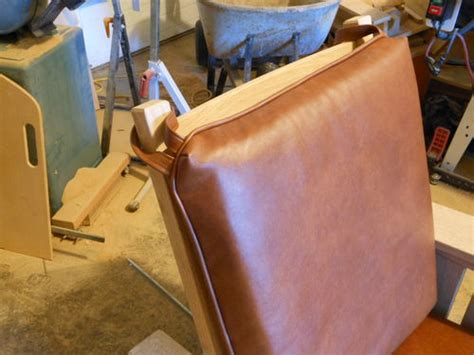 how to sew leather upholstery stickley 369 morris chair 6 leather upholstery by