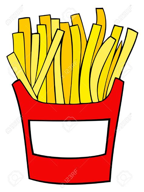 disegni clipart fries clipart food pencil and in color