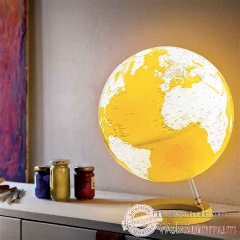 globe oxygen classic national geographic lumineux sur