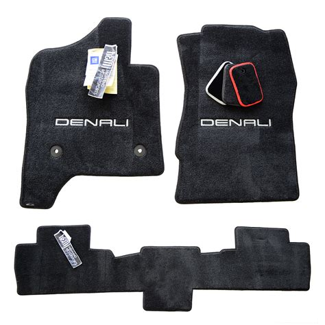 gmc sierra floor mats set