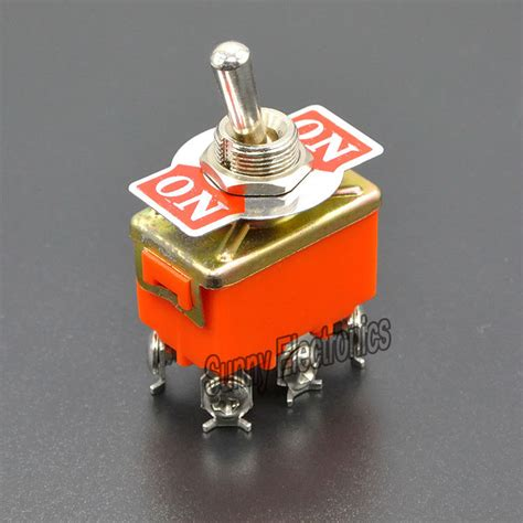 Best Quality Toggle Switch 3 Kaki 15a On On 250vac 20pcs lot high quality new 6 pin dpdt on on car switch