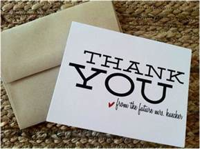 Thank You Letter Ideas Thank You Note Ideas 187 Hill City Virginia Wedding