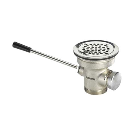 krowne 22 404 3 1 2 quot lever waste drain culinary depot