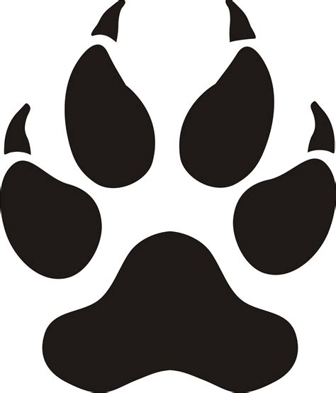 panther paw print clip clipart best clipart best small panther paw print images clipart best baby z