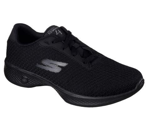 Skechers Gowalk 4 Pursuit S Lifestyle Shoes Black buy skechers skechers gowalk 4 glorify skechers performance shoes only 70 00