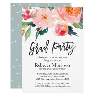 designs create your own graduation party invitations designss on