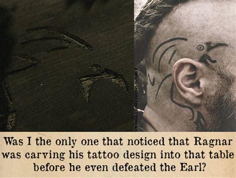 el aspecto de un vikingo iv maquillaje y tatuajes en la