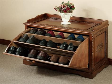 Wood Shoe Rack Ideas by Ideas Wooden Shoe Storage Solutions Choosing The Right