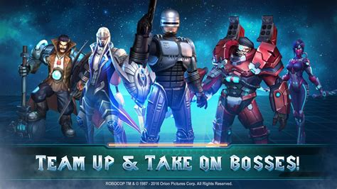 moba for android popular moba legends adds iconic character robocop but only for a limited time