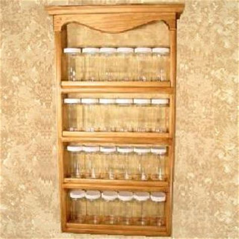 Small Wall Spice Rack 414