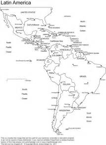 america printable blank map south america brazil