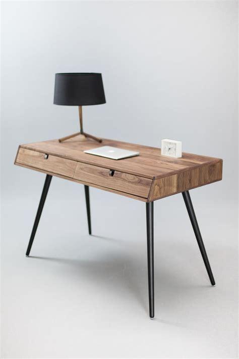 Modern Solid Wood Desk Best 25 Solid Wood Desk Ideas On Pinterest Home Desks White Desk Solid Wood And White Desks