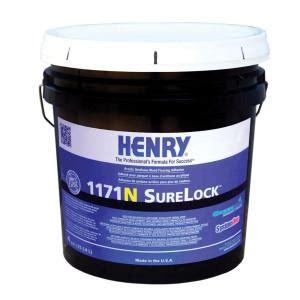 henry 1171 4 gal surelock wood floor adhesive 12236 the