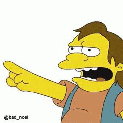 Haha Simpsons Meme - the popular nelson simpsons gifs everyone s sharing