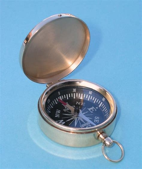 the brass compass stanley brass scouting pocket compass from the