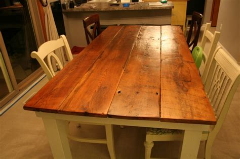 how to make a farmhouse table home diy