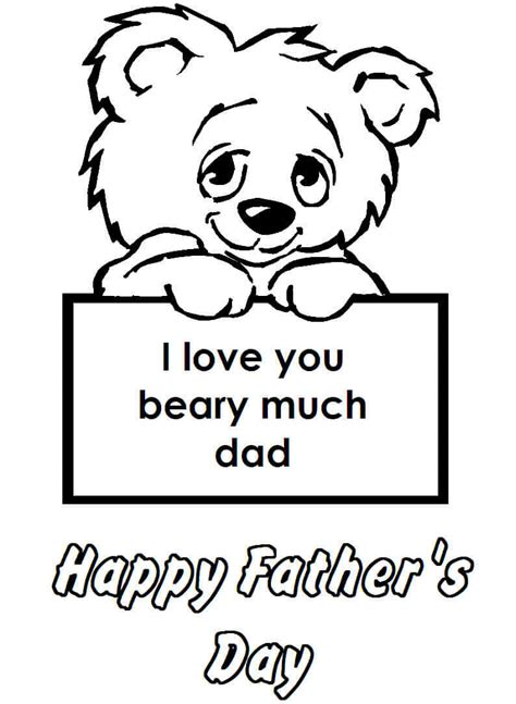 fathers day coloring sheets 30 free printable s day coloring pages