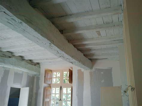 Plafond De La Sécu by Application D Un Badigeon 224 La Chaux Sur Un Plafond En