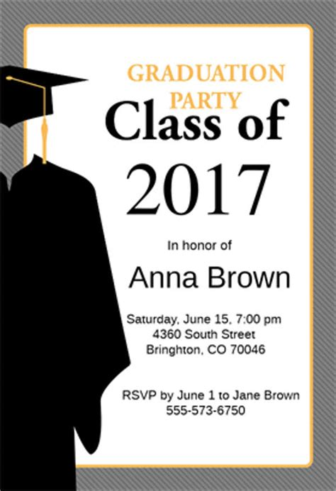 graduation announcement template 9 graduation menu templates psd vector eps ai