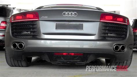 heffner audi r8 turbo engine sound and acceleration