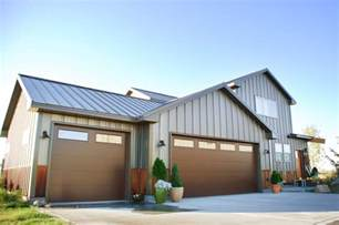 roofing a house metal siding options costs and pros amp cons steel siding