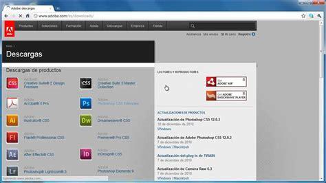 youtube tutorial adobe photoshop cs5 en español c 243 mo descargar adobe photoshop cs5 desde pagina oficial de