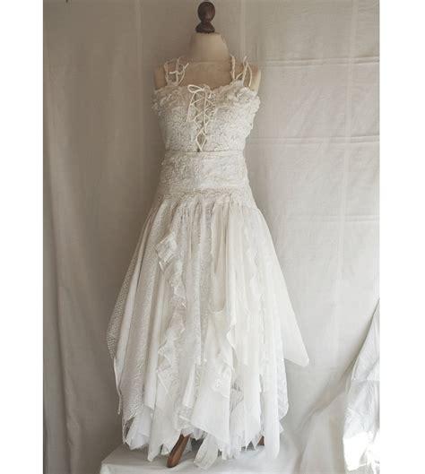Fairism Dress deposit for aysha upcycled wedding dress tattered by cutrag