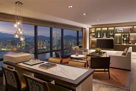 Hk Hayati Set grand hyatt hong kong ambassador harbour view suite