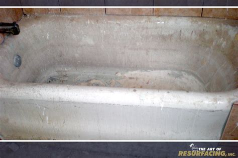 bathtub resurfacing diy tub resurfacing the art of resurfacing inc