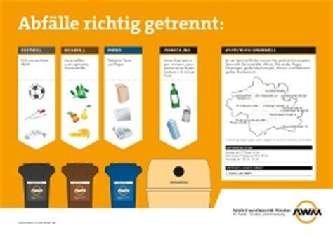 Beschriftung München by Formulare Awm Abfallwirtschaftsbetrieb M 195 188 Nchen