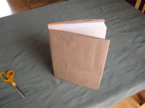How To Make Book Cover From Paper Bag - no book cover