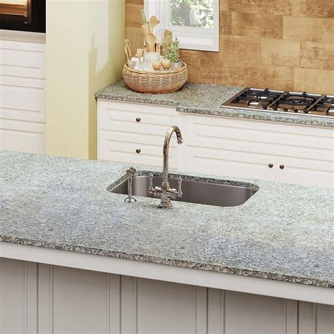 allen roth steel surge quartz kitchen countertop sample