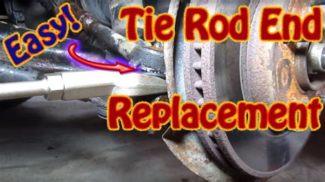 diy   replace  outer tie rod ends   chevy
