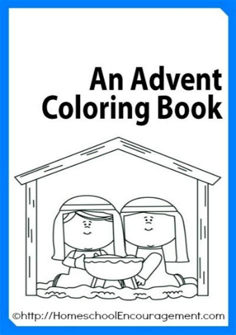printable advent coloring pages 20 amazingly simple catholic advent crafts for kids