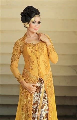 Syahrini Set 2 Kulot Batik By Rayya yellow kebaya modern sensation international kebaya batik modern