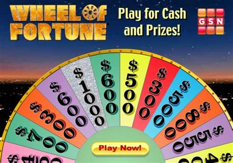 Play And Win Cash Money - play wheel of fortune win more cash p it s free at last