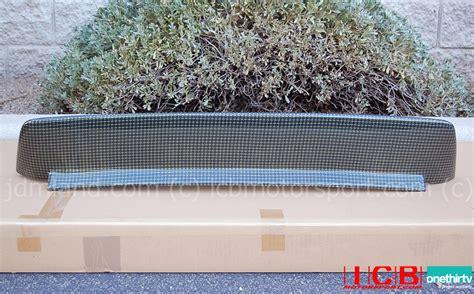 backyard special eg backyard special bys eg6 civic hatchback roof spoiler kevlar
