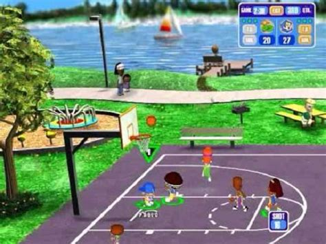 backyard basketball backyard basketball sony playstation 2 game