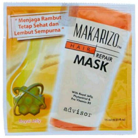 Harga Makarizo Hair Mask makarizo hair mask sachet 15ml masker rambut makarizo