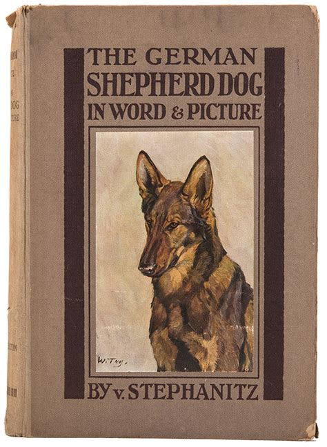 german words for dogs dogs stephanitz v the german shepherd in word pict