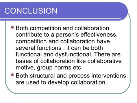 Competitive Collaborative Mba Schools by Cooperation And Competition