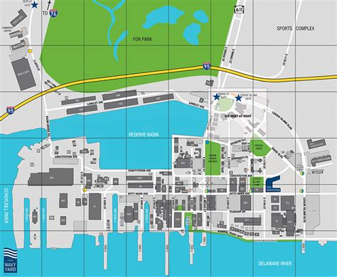 washington navy yard map the navy yard a cus built for business growth