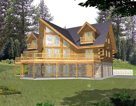 log cabin house plan alp 04z7 chatham design