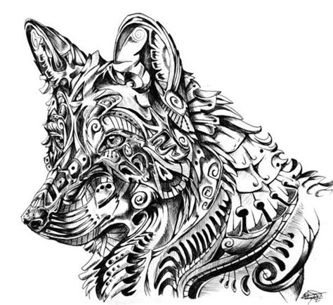hard wolf coloring pages coloring for adults kleuren voor volwassenen coloriage