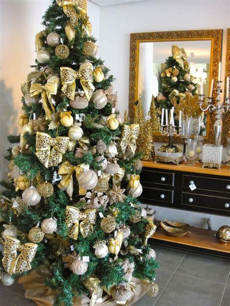 decoração de arvore de natal azul e dourado 42 modelos de 193 rvore de natal para inspirar a sua decora 231 227 o