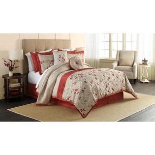smith krista 6 comforter set floral